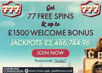 30 free Spins - 12258