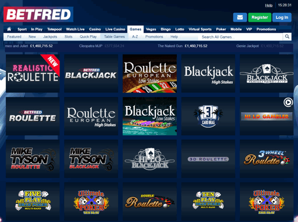 Slots anmelden Betfred - 25528